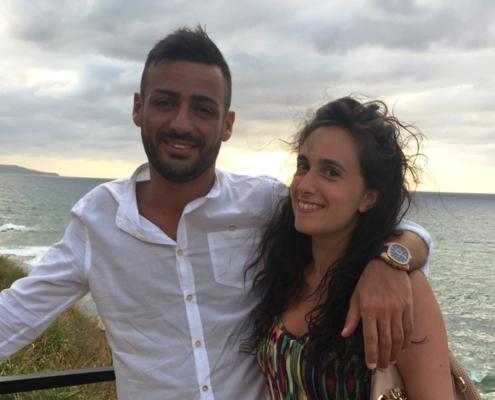 Roberta Calabrò e Mauro Pirillo