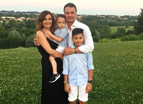 Laura Lamera & Dario Dell'Orto con Andrea e Jacopo
